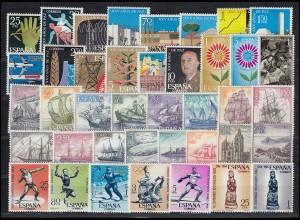 1436-1525 Spanien-Jahrgang 1964 komplett, postfrisch **
