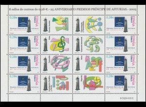 4079 Prinz-von-Asturien-Stiftung / Fürstin von Asturien-Stiftung - Kleinbogen **