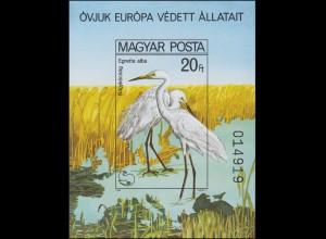 Block 146B Europäische Naturschutzkampagne - Vögel 1980, Block ungezähnt **