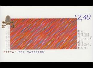 Vatikan-Markenheftchen 0-12 Moderne Gemälde, **
