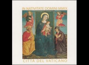 Vatikan-Markenheftchen 0-17 Weihnachten - Engelgewand rot, **