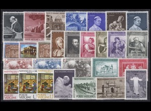 442-470 Vatikan-Jahrgang 1964 komplett, postfrisch