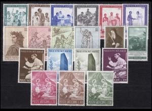 471-489 Vatikan-Jahrgang 1965 komplett, postfrisch