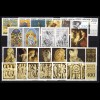 695-717 Vatikan-Jahrgang 1977 komplett, postfrisch