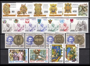 759-778 Vatikan-Jahrgang 1980 komplett, postfrisch