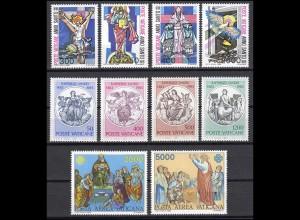 816-843 Vatikan-Jahrgang 1983 komplett, postfrisch