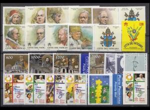 1323-1361 Vatikan-Jahrgang 2000 komplett, postfrisch