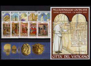 1362-1393 Vatikan-Jahrgang 2001 komplett, postfrisch