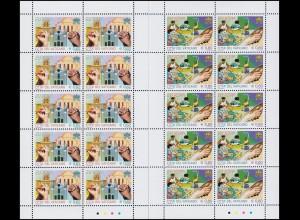 1546-1547 EUROPA Integration 2006, Kleinbogen-Satz **