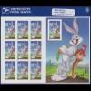 USA - Folienblatt Bugs Bunny, postfrisch **