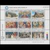 Zypern (griechisch) 672-680 Kulturerbe: Kirchen, Zusammendruck-Kleinbogen, **