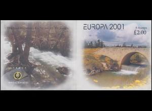 Zypern (griechisch) Markenheftchen 2 Europa / Cept 2001, postfrisch **
