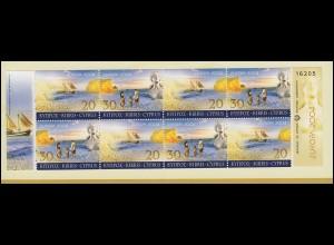 Zypern (griechisch) Markenheftchen 5 Europa / Cept 2004, postfrisch **