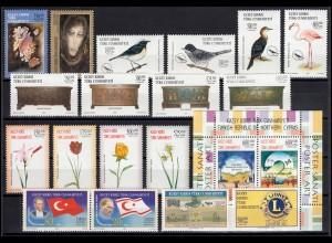 576-595 Zypern (türkisch) Jahrgang 2003 komplett, postfrisch