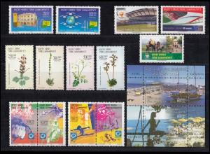 596-610 Zypern (türkisch) Jahrgang 2004 komplett, postfrisch
