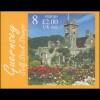 Guernsey Markenheftchen 0-19 Schloss Castle Seigneurs Insel Sark **