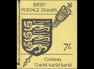 Jersey Markenheftchen 0-2, Wappen 1969, **