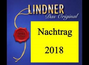 LINDNER Vordrucke Deutschland 2018 in Farbe, Blatt 374-382