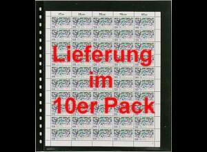 LINDNER Omnia Bogenblatt 020 für 2 Bögen 25,4 x 30 cm, 10er Packung