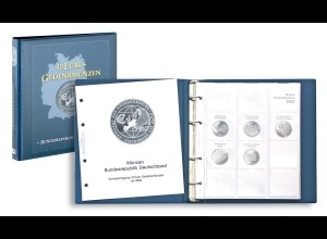LINDNER Vordruckalbum KARAT 10 Euro Gedenkmünzen Deuschland 2002 - 2009
