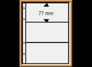 Multi collect-Blätter MU1313 schwarz, 3 Streifen, Packung zu 10 Stück