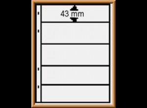 Multi collect-Blätter MU1315 schwarz, 5 Streifen, 10 Stück