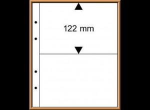 Multi collect-Blätter MU1322, glasklar, 2 Streifen, 10 Stück