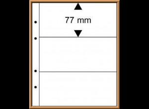 Multi collect-Blätter MU1323 glasklar, 3 Streifen, 10 Stück