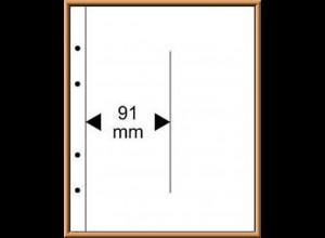 Multi collect-Blätter MU1347 glasklar, 2 Streifen vertikal, 10 Stück