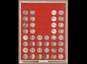 LINDNER Münzenbox/Münzbox Standard für 2 EURO