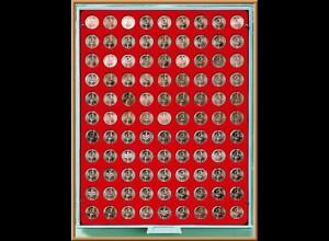 LINDNER Münzenbox/Münzbox Standard für 2 Cent/2 Pf.
