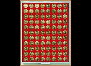 LINDNER Münzenbox Standard leer 5 Cent/10 Pfennig