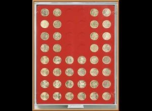 LINDNER Münzenbox/Münzbox Standard für 50 Cent