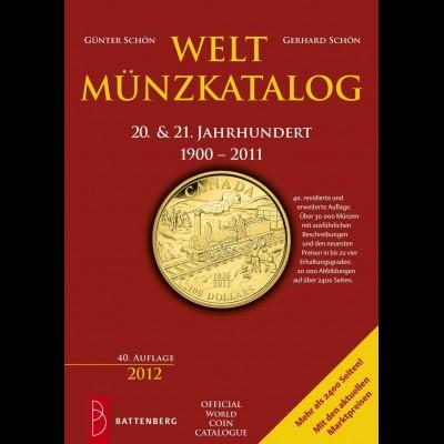 Katalog Weltmünzkatalog 1900-2012, 40. Auflage 2012