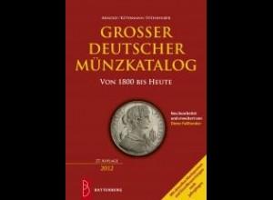 Katalog Großer Deutscher Münzkatalog 27. Auflage 2012