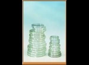 LINDNER Münzenkapseln Innen-Ø 18,0 mm 100er-Packung