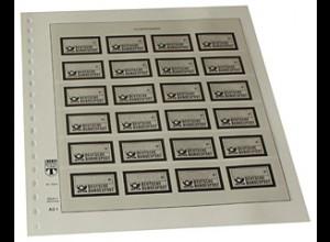 LINDNER-Vordruck BRD ATM Motiv Emblem der DBP 1981