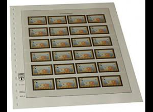 LINDNER-Vordruck BRD ATM Motiv Postemblem EURO 2002