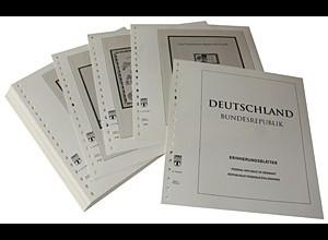 LINDNER-Vordrucke Bund Erinnerungsblätter 1989-2004
