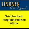 LINDNER-Vordrucke Griechenland Region Athos 2008-2016