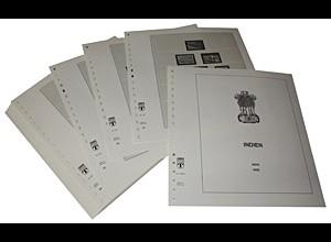 LINDNER-Vordrucke Indien 1986-1996