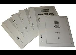 LINDNER-Vordrucke Indien 1997-2003