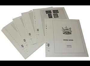 LINDNER-Vordrucke Hongkong 1946-1986