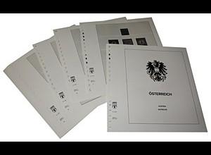 LINDNER-Vordrucke Österreich 1968-1974