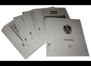 LINDNER-Vordrucke Österreich 1996-2006 in Farbe