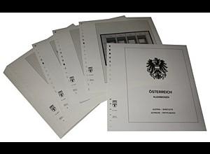 LINDNER-Vordrucke Österreich Kleinbogen 1988-2008