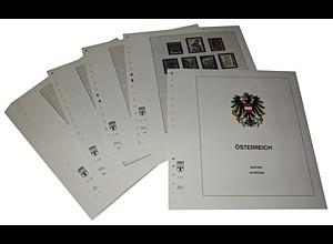 LINDNER-Vordrucke Österreich 1975-1984 in Farbe!