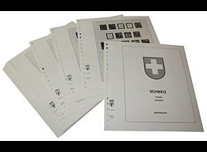 LINDNER-Vordrucke Schweiz ohne intern. Ämter 1938-1959