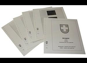 LINDNER-Vordrucke Schweiz MH Pro Juventute 1980-2015