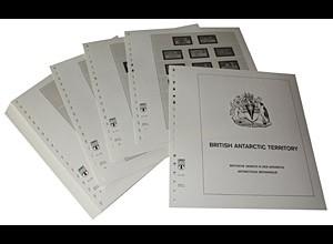 LINDNER-Vordrucke Britische Gebiete Antarktis 1963-2008